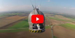 Video Screen Modellau Clip Stratos jump